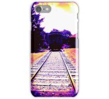 Train at Sunset iPhone Case/Skin