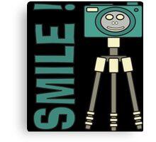 Smile camera Canvas Print