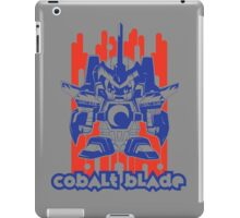 Cobalt Blade Two-Tone iPad Case/Skin