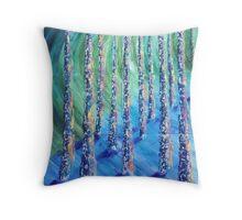 Birches 2 Throw Pillow