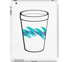 Solo Jazz Cup 90s Pattern - With Cup (white) iPad Case/Skin