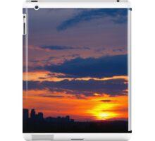 Inky blues iPad Case/Skin