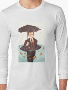 Living in a world of goldfish Long Sleeve T-Shirt