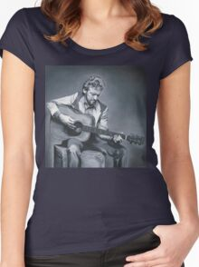 Keith Whitley Women's Fitted Scoop T-Shirt