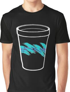 Solo Jazz Cup 90s Pattern - With Cup (black) Graphic T-Shirt