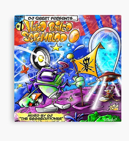 Yedi Fresh ( DJ QBERT HARD BOILED SCRAMBLED EGG #1 ) Canvas Print