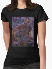 Kris Kristofferson Womens Fitted T-Shirt