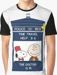 Dr Who - Charlie Brown Graphic T-Shirt