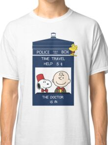 Dr Who - Charlie Brown Classic T-Shirt