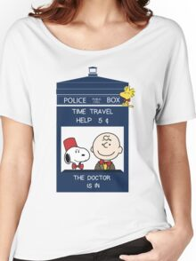 Dr Who - Charlie Brown Women's Relaxed Fit T-Shirt