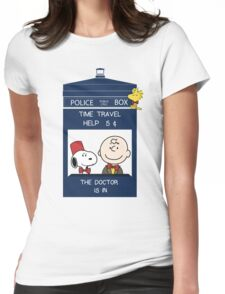 Dr Who - Charlie Brown Womens Fitted T-Shirt