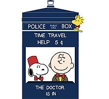 Dr Who - Charlie Brown Photographic Print