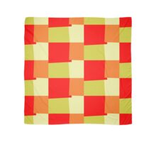 Retro Color Modern Geometric Pattern #4 Scarf