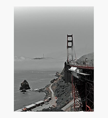 Golden Gate Bridge- San Francisco  Photographic Print