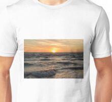 Sun Setting at Chelsea Beach, Melbourne Unisex T-Shirt