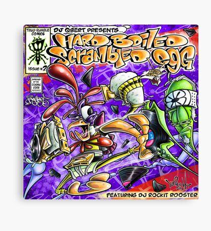 Yedi Fresh ( DJ QBERT Hard Boiled Scrambled Egg #2 ) Canvas Print