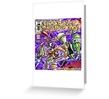Yedi Fresh ( DJ QBERT Hard Boiled Scrambled Egg #2 ) Greeting Card