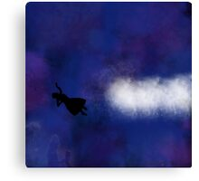Clara Falling- The Snowmen Canvas Print