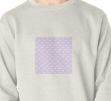 Ditsy Scallop in Dusty Lilac Pullover