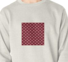 Ditsy Scallop in Brick Red Pullover
