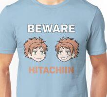 Beware the Hitachiin Twins! Unisex T-Shirt