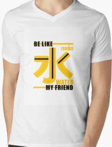Be like Water Mens V-Neck T-Shirt
