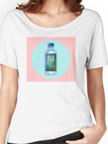 Fiji Water vaporwave  Women's Relaxed Fit T-Shirt