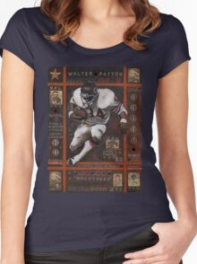 Walter Payton Women's Fitted Scoop T-Shirt