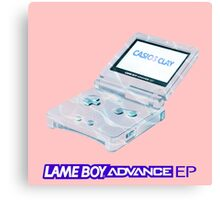 CASIOS CLAY - LAMEBOY ADVANCE EP Canvas Print