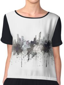 Gold Coast, Queensland, Australia Skyline - CRISP Chiffon Top