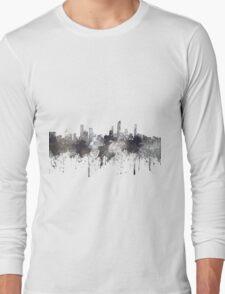 Gold Coast, Queensland, Australia Skyline - CRISP Long Sleeve T-Shirt
