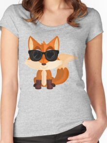Cool Fox Women's Fitted Scoop T-Shirt