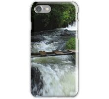Small Foot Bridge Over Whitewater iPhone Case/Skin