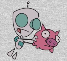 Mah Piggy One Piece - Long Sleeve