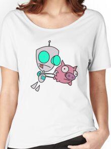 Mah Piggy Women's Relaxed Fit T-Shirt