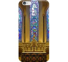 Stained Glass, St Patrick's Cathedral, Dublin iPhone Case/Skin