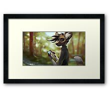 James at the Park Framed Print