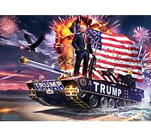 Can't Stump the Trump Photographic Print