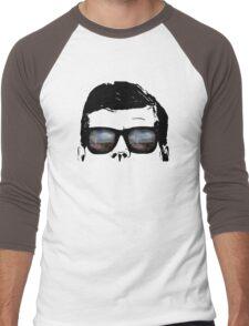 JFK Pop Art (Vector Variation) Men's Baseball ¾ T-Shirt