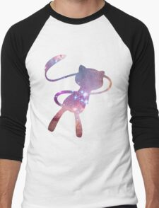 Galaxy Mew Men's Baseball ¾ T-Shirt