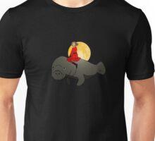 Hero's Flying Manatee - No Background Unisex T-Shirt