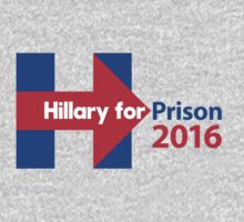 Hillary for Prison 2016 Baby Tee