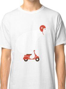 Polar Bear on Scooter Classic T-Shirt