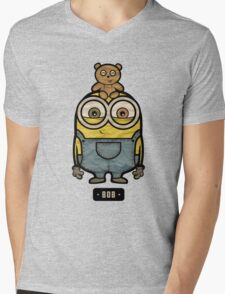 Minions Bob Mens V-Neck T-Shirt