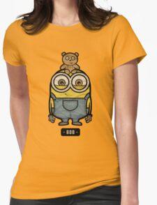 Minions Bob Womens Fitted T-Shirt