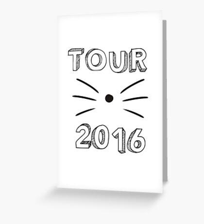 Dan and Phil 2016 Tour  Greeting Card