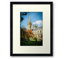 Llandaff Cathedral in Spring Framed Print