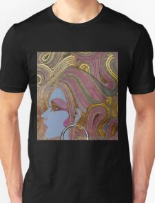 Seventies Glamour Fashion Girl T-Shirt