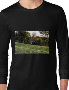 Kangaroo Running up a Hill Long Sleeve T-Shirt
