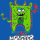 I Love My Monster by Maria  Gonzalez